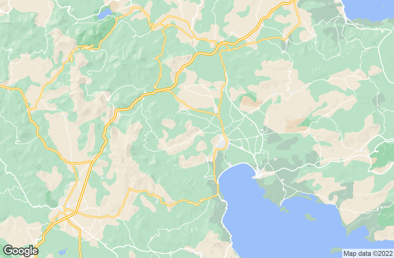 Google Map of أرجوس ميكينيس