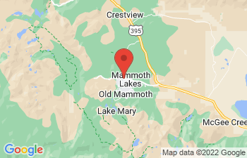 Map of Mammoth Lakes
