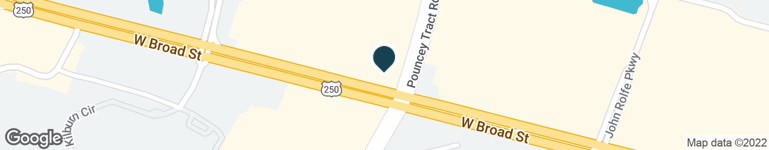 Google Map of11500 W BROAD ST
