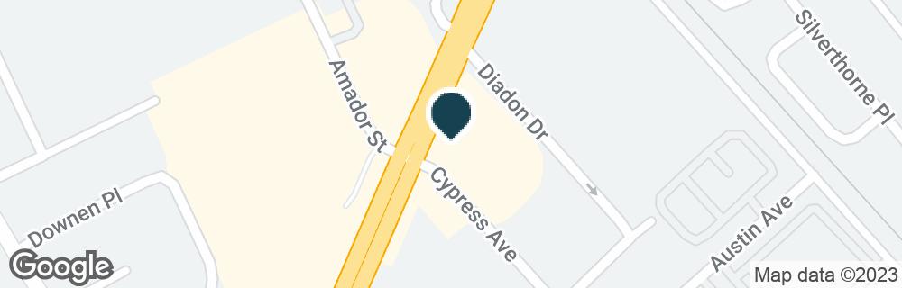 Google Map of164 W JACKSON ST