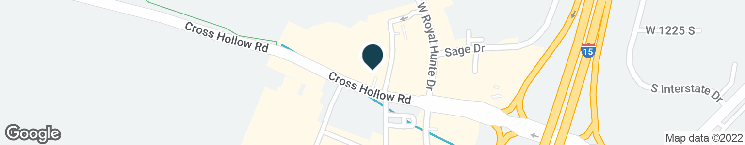 Google Map of1948 W CROSS HOLLOW RD