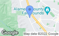 Map of Pleasanton, CA