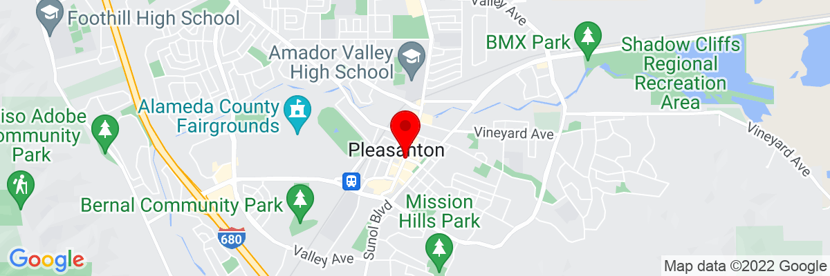 Google Map of 37.662431111111,-121.87467888889