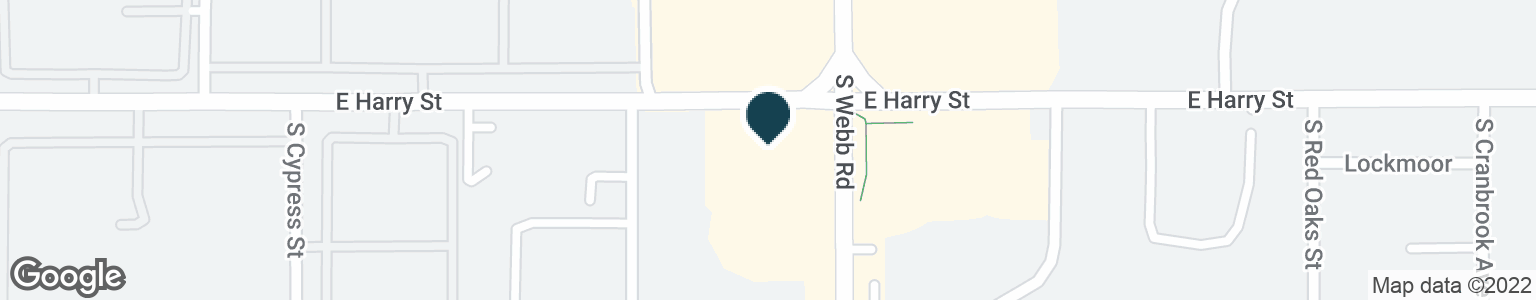 Google Map of1625 S WEBB RD