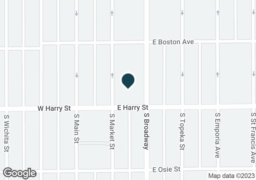 Google Map of1555 S BROADWAY ST