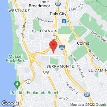 Map of buybuy BABY at 149 Serramonte Center, Daly City, CA 94015
