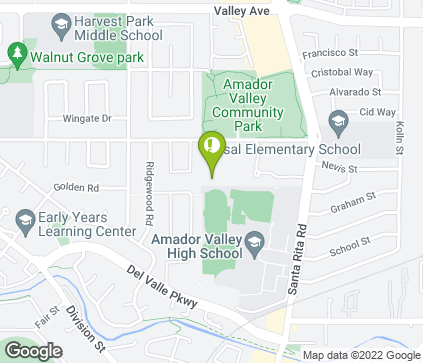 Map of 4460 Black Ave in Pleasanton