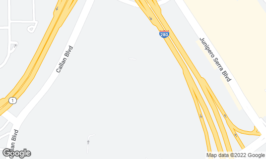 Map of Buffalo Wild Wings at 5B Serramonte Ctr Daly City, CA