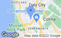 Map of Daly City, CA