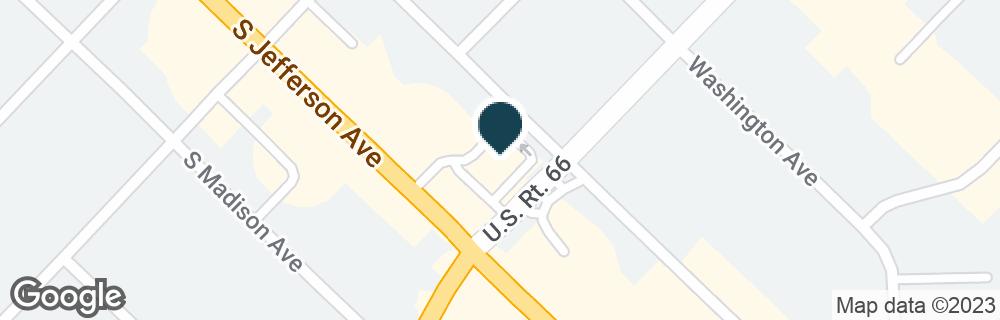 Google Map of588 S JEFFERSON AVE