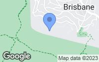 Map of Brisbane, CA