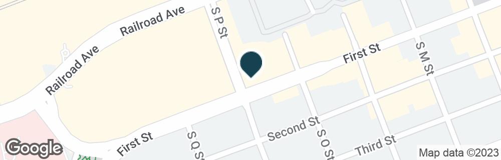 Google Map of1620 1ST ST