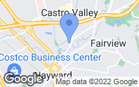 Map of Castro Valley, CA