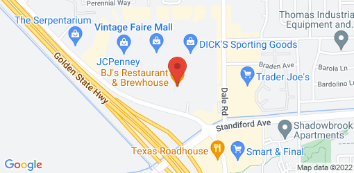 Directions to BJ's Restaurant & Brewhouse