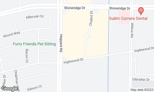 Map of Aachi Aappakadai at 4555 Hopyard Rd Pleasanton, CA