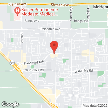 Map of Check `n Go at 2100 Standiford Ave., Modesto, CA 95350
