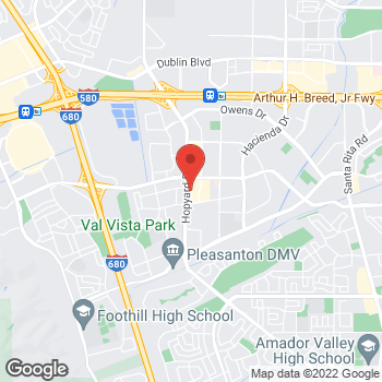 "Map of <span class=""LocationName"" itemprop=""name"" id=""location-name""><span class=""LocationName-brand"">AT&amp;T Store</span> <span class=""LocationName-geo"">Pleasanton</span></span> at 4747 Hopyard Rd, Pleasanton, CA 94588"