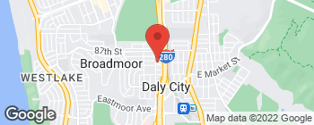 Map of 295 89th St in Daly City