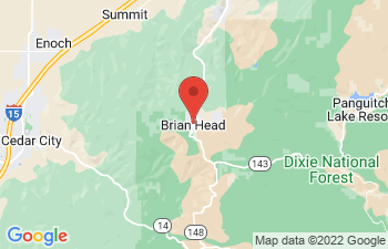 Map of Brian Head