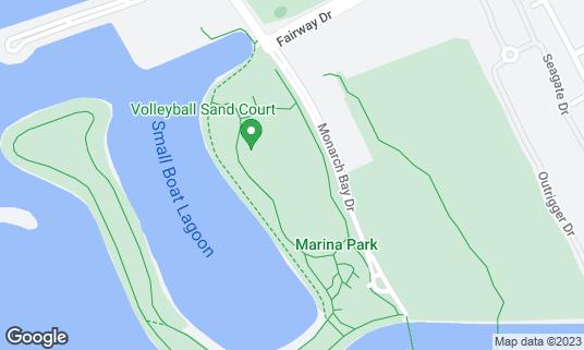 Map of Marina Park at 14001 Monarch Bay Dr San Leandro, CA