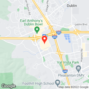 Map of Ann Taylor at 2511 Stoneridge Mall Road, Pleasanton, CA 94588