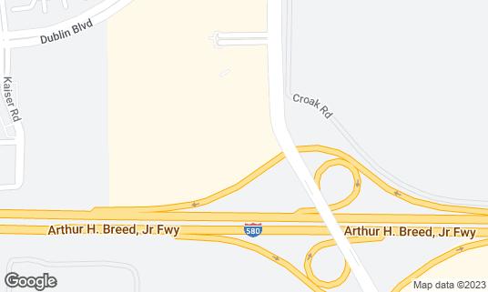 Map of BJ's Restaurant & Brewhouse at 3620 Fallon Rd Dublin, CA
