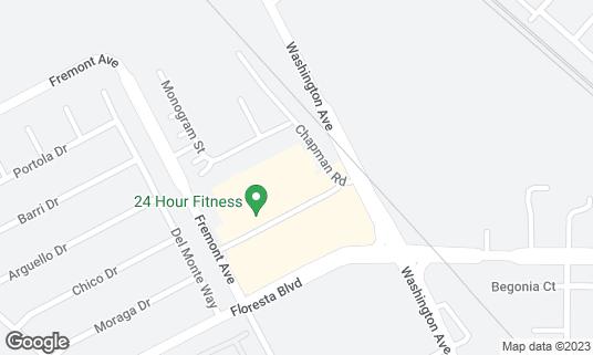 Map of Pak N Save Foods at 555 Floresta Blvd San Leandro, CA