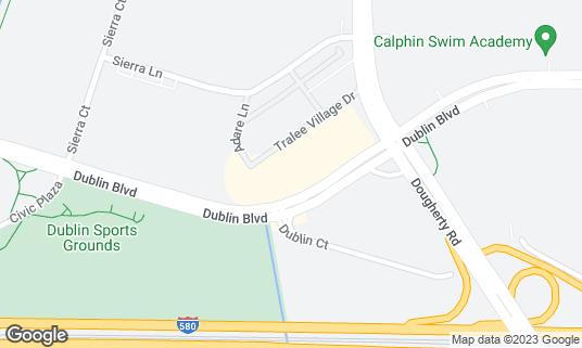 Map of Paradise Biryani Pointe at 6601 Dublin Blvd Dublin, CA