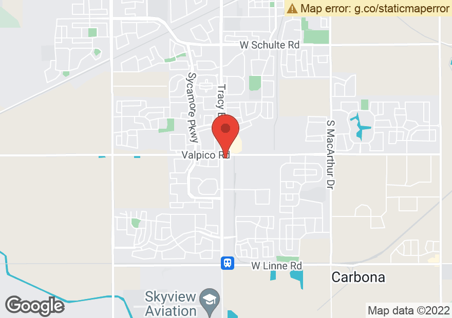 Google Map of 2810 S TRACY BLVD