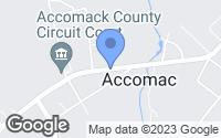 Map of Accomac, VA