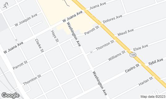 Map of Climax Sports Bar at 1680 Washington Ave San Leandro, CA