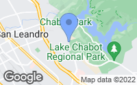 Map of San Leandro, CA