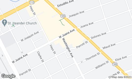 Map of Pelton Cafe at 194 Pelton Center Way San Leandro, CA