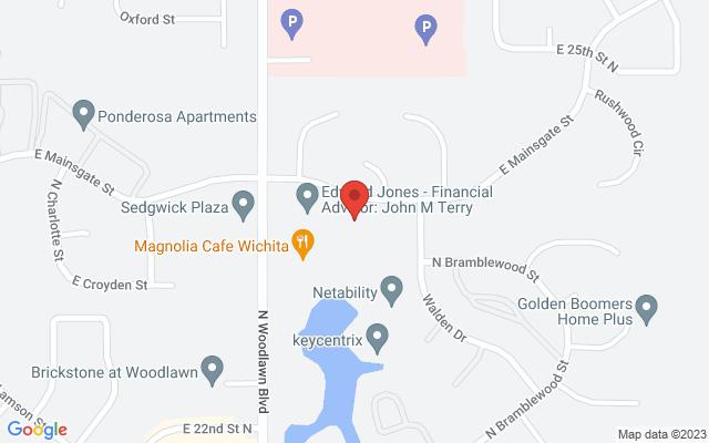 static image of 6525 East Mainsgate Road, Wichita, Kansas