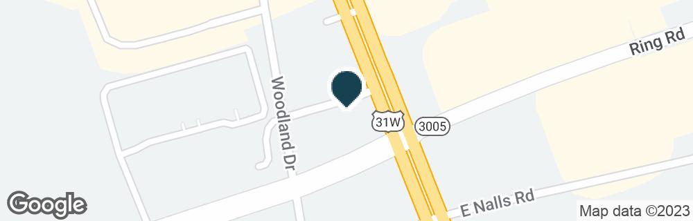 Google Map of1602 N DIXIE HWY