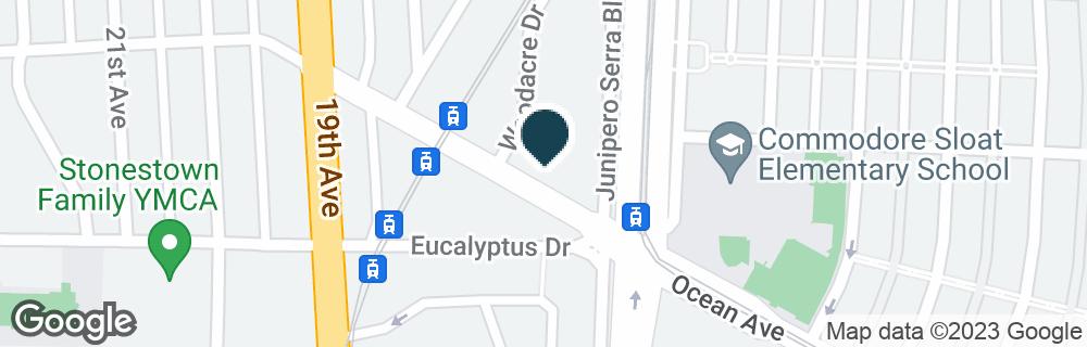 Google Map of2550 OCEAN AVE