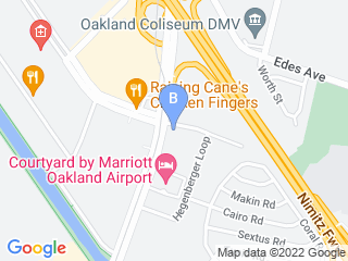 Map of Citizen Canine Dog Boarding options in Oakland | Boarding