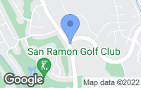 Map of San Ramon, CA