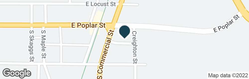 Google Map of4 S COMMERCIAL ST