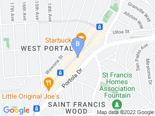 Map of CITIPETS Dog Boarding options in San Francisco | Boarding