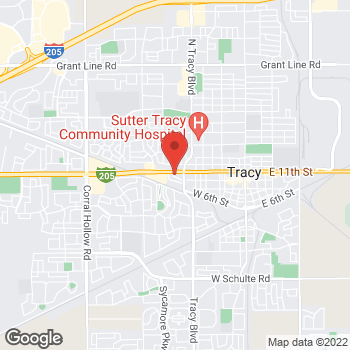 Map of Check `n Go at 874 West 11th Street, Tracy, CA 95376