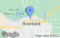 Map of Riverbank, CA