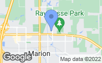 Map of Marion, IL