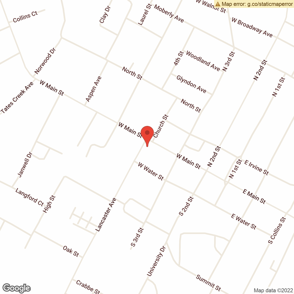 map to Central Bank ATM – Richmond