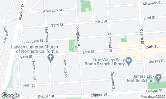 Map of Firefly at 4288 24th St San Francisco, CA