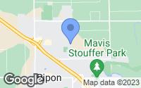 Map of Ripon, CA