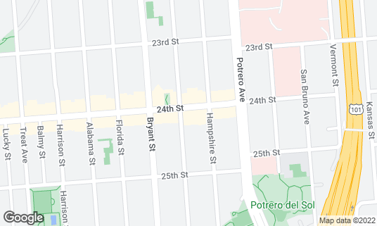 Map of Brava Theater at 2781 24th St San Francisco, CA