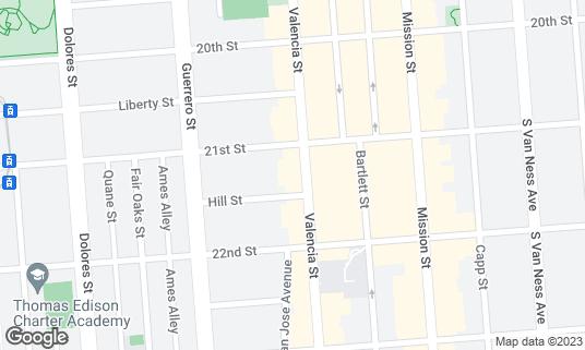 Map of Ritual at 1026 Valencia St San Francisco, CA