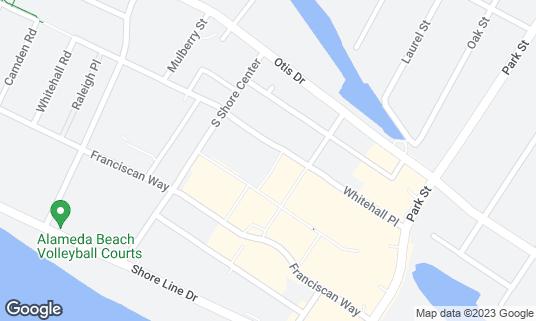 Map of Applebee's at 2263 S Shore Ctr Alameda, CA
