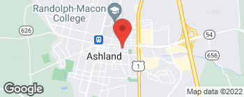 Map of 409 England St in Ashland